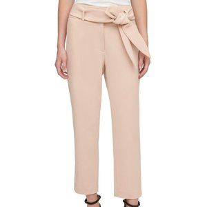 DKNY Belted Suit Pants
